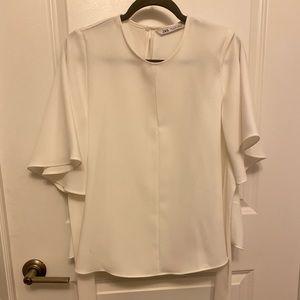 Zara oversized top